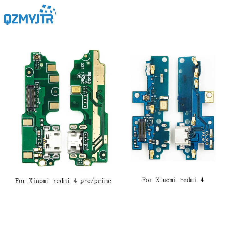 Novo Para xiaomi redmi 4 Placa Plugue do Carregador USB doca de Carregamento Porto Connector Flex Cable para xiaomi redmi 4 pro/4 Prime Substituição