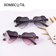 SomeCool Factory NEW Style Rimless Kids sunglasses 3-8 y Pla