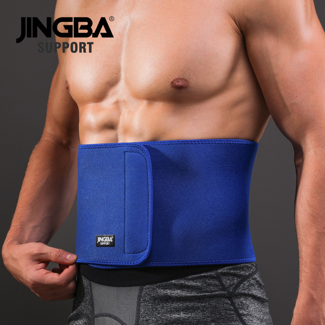 JINGBA SUPPORT Professional Adjustable Waist trimmer Slim fit Abdominal Waist sweat belt Waist back support belt Fitness