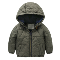 Boys Hooded Coat 2017 New Winter Children S Clothing Children S Baby Cotton Jacket Jacket Coat