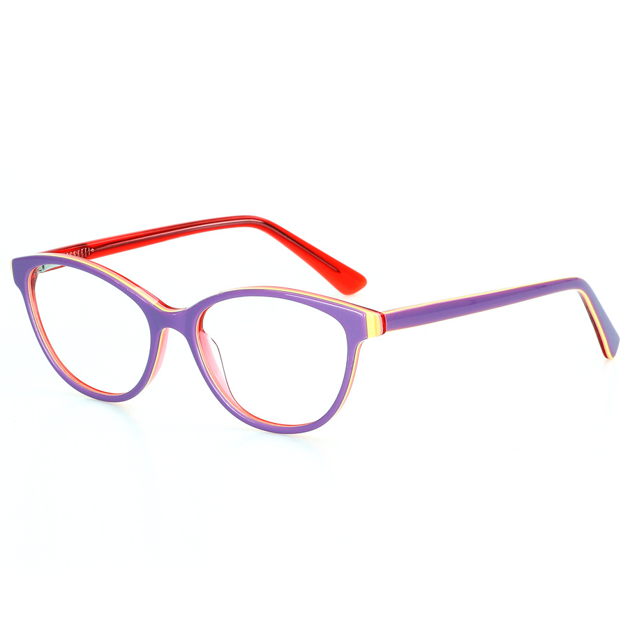 Image 5 - LOGORELA Glasses Optical Eyewear Frame Computer Spectacles Prescription Reading Eyeglasses Fashion Accessories Acetate Frame-in Men's Eyewear Frames from Apparel Accessories
