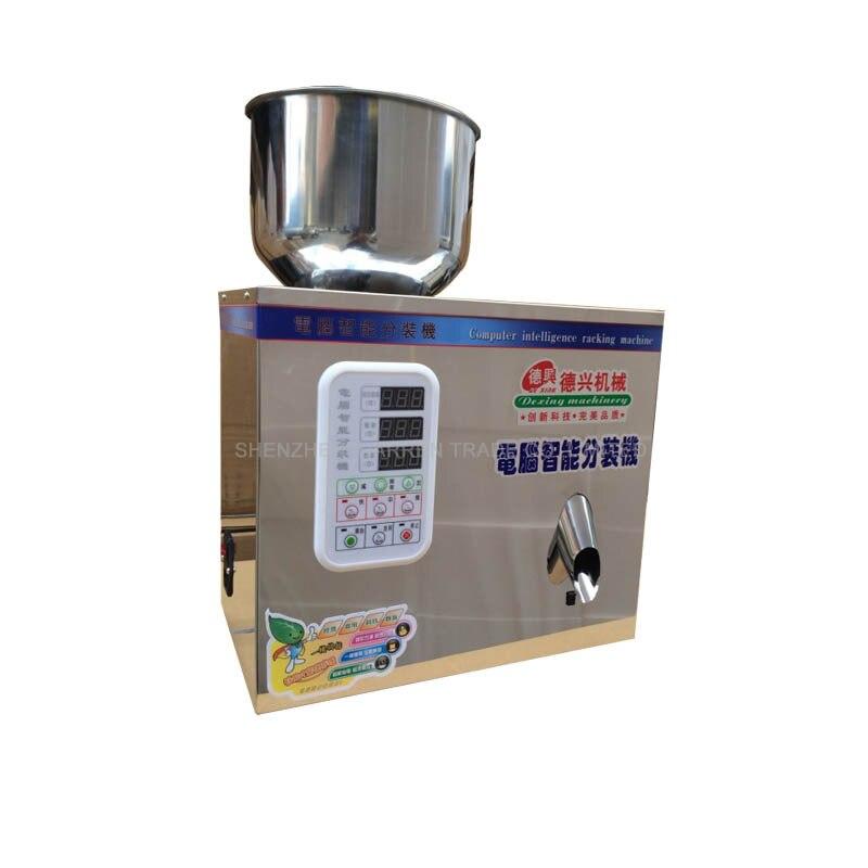 Купить с кэшбэком 1-25g Tea Weighing and Packing Machine 110V/220V Automatic Measurement of Particle Bag Tea Packaging Machine