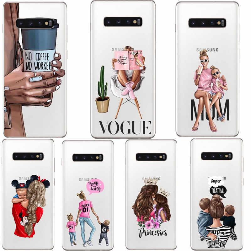 Dành Cho Samsung Galaxy Samsung Galaxy S10 E Lite Ốp Lưng S10Plus Ốp Lưng Silicone TPU Cover Ốp Lưng Điện Thoại Samsung S10 Plus G975F S 10 SM-G973F Ốp Lưng Mềm Mại