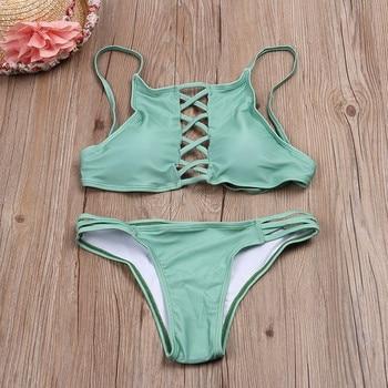 Swimwear Women Bikini 2017 Swimsuit Bathing Suit Brazilian Beachwear Push Up Bikini Set Maillot De Bain Biquini Swim Wear Biquni 2