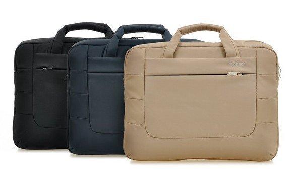 Бринч 4 цвета 17 дюймов сплошной мода стильный противоударный многоцелевой портативный ноутбук сумка чехол портфель