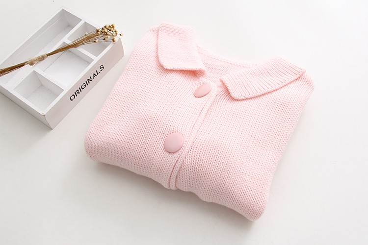 5190570d9 2017 New Baby Pink Cardigans Standard Women s Sweaters Strawberry ...