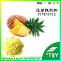 500g Natural de Abacaxi/Ananas comosus/Bromelina Pó com frete grátis