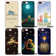 Для iPhone X 4 4S 5 5S 5C SE 6 6S 7 8 плюс samsung Galaxy J1 J3 J5 J7 A3 A5 Soft Shell чехлы с акварельным изображением милого Маленького принца лисы цитаты