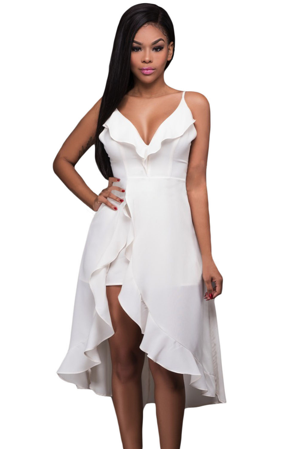 Fashion Dresses Accessories: Sexy Shoulder Spaghetti Strap Night Club Wear Summer