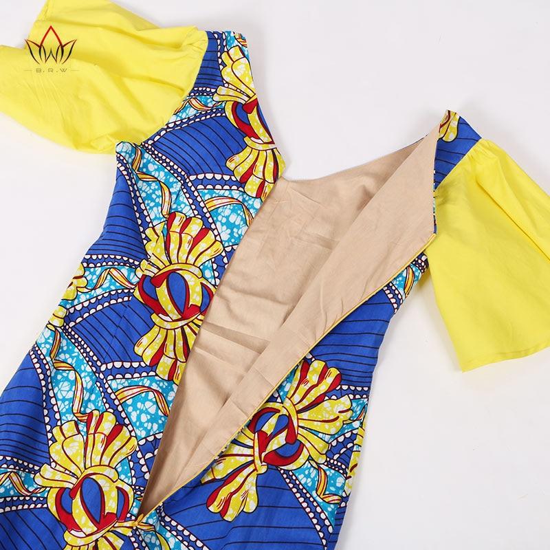 Haljine s afričkim printom bez rukava za žene Udobne tiskane - Ženska odjeća - Foto 5