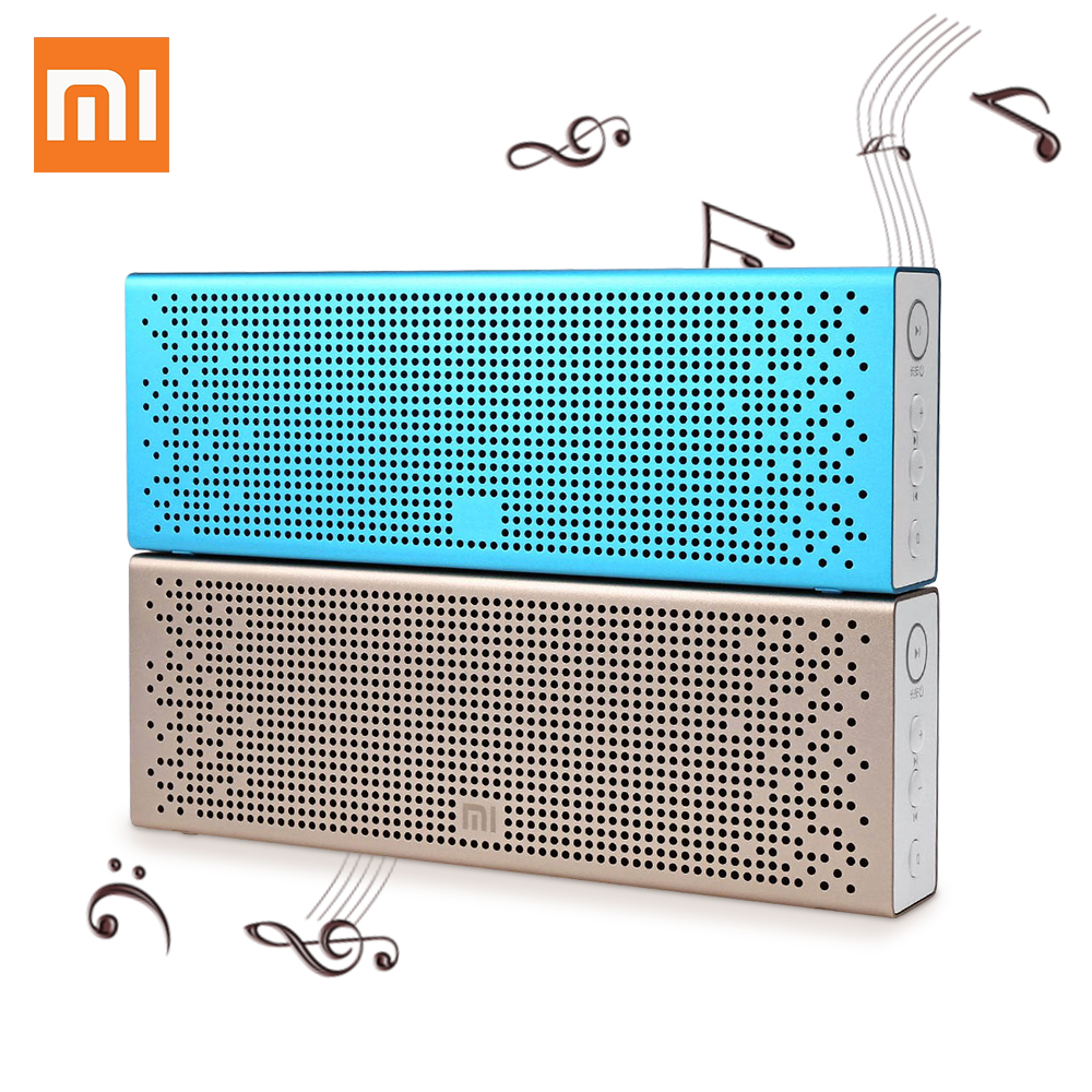 Original font b Xiaomi b font Mi Bluetooth Speaker Handsfree Wireless speaker Stereo Mini Portable Bluetooth