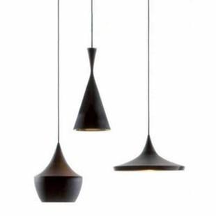 3 In 1 Set Modern Brief Nordic Beat Light Musical Instrument Fish Scale Alluminum Pendant