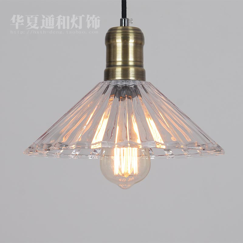 Simple industrial retro glass pendant lights Edison North American style village restaurant living room creative lamp lighting 2016 decorative dove design transparent glass pendant light vintage edison light north european style village glass