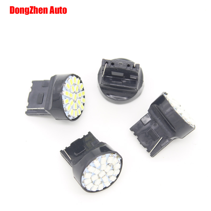 Dongzhen LED Car 24V T20 <font><b>W21</b></font> <font><b>5W</b></font> 7440 22 LED 1206 Light Source Bulb Direction Indicator Backup Light Xenon White Car Styling 1pcs image