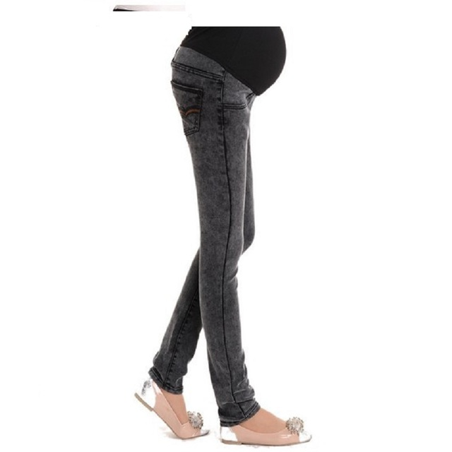 Hot 2016 New Fashion Maternity Jeans For Pregnant Women Plus Size Pant Pregnancy Clothes Mother-hood