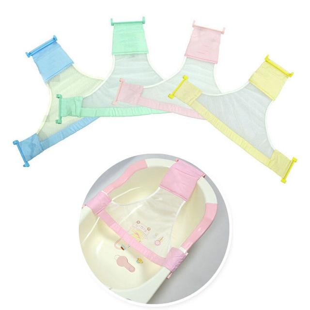Adjustable Newborn Baby Bath Seat Toddler Infant Soft Tub Bathtub ...