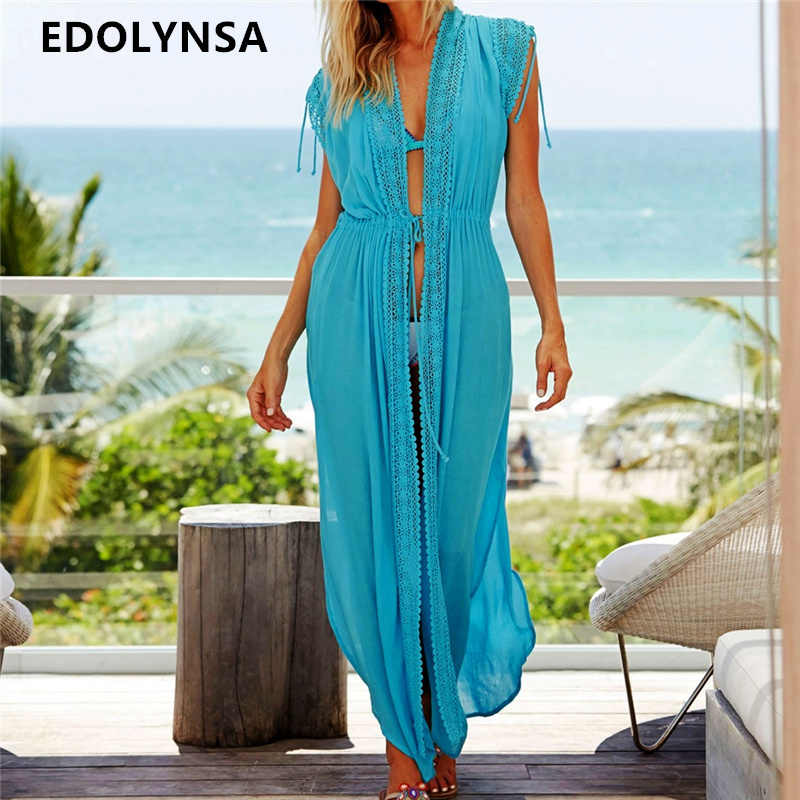 8b9b07e40a169 Cotton Beach Cover up Kaftans Sarong Bathing Suit Cover ups Beach Pareos  Swimsuit Cover up Womens