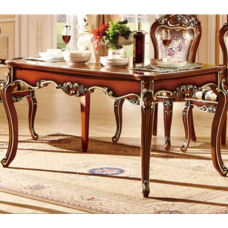 Quality Kitchen Tables: Hot Selling Classic Dining Table And Chair-in Dining
