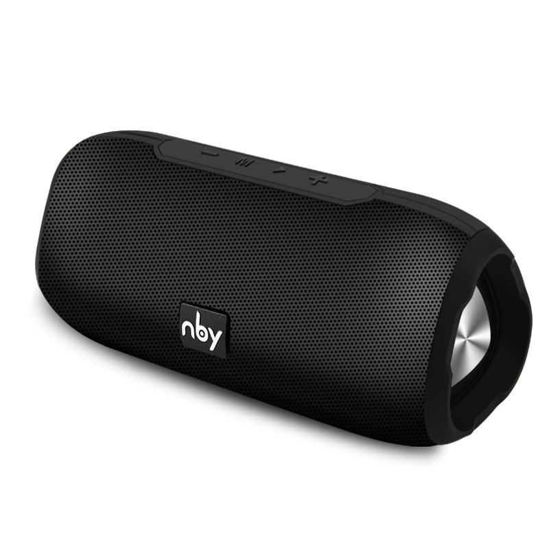 NBY Tragbare Bluetooth Lautsprecher Wireless Stereo Lautsprecher Sound System Im Freien Wasserdichte Lautsprecher 10 W Musik Surround