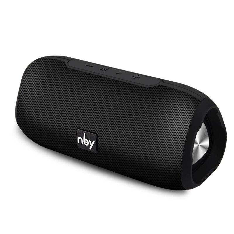 NBY altavoz portátil Bluetooth inalámbrico estéreo altavoz sistema de sonido al aire libre impermeable altavoz 10 W envolvente