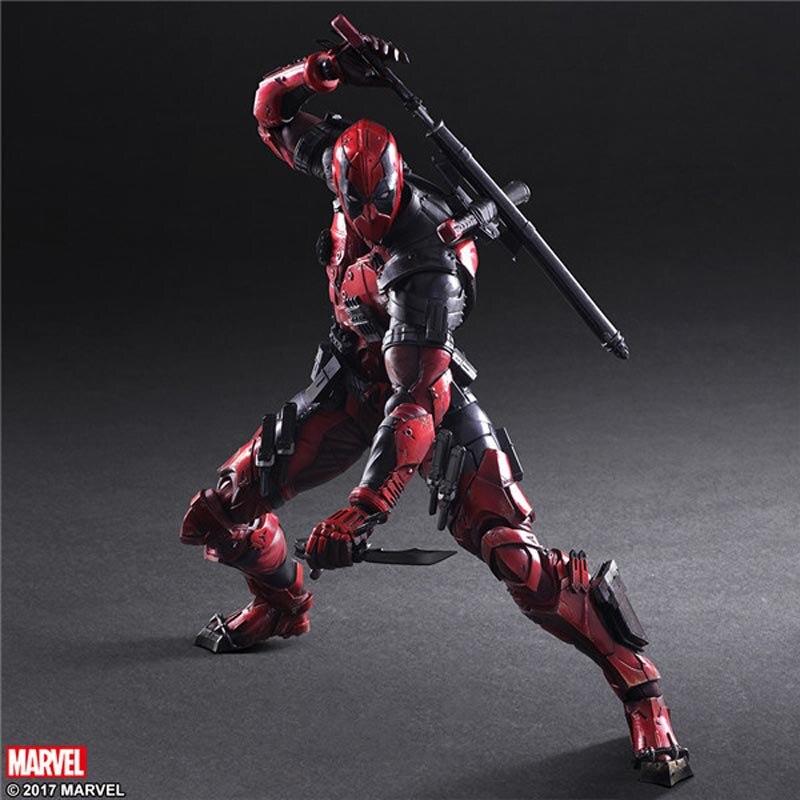 Marvel Figuren Deadpool BJD Spielzeug Plan Waffe X 25 cm Suer Hero-in Action & Spielfiguren aus Spielzeug und Hobbys bei AliExpress - 11.11_Doppel-11Tag der Singles 1