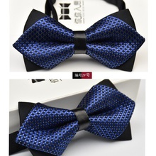 Novelty Wedding Party Polyester Bowtie Noeud Papillon Men Women Bow Tie Solid Color Bolo Neckwear Cheap Cravat