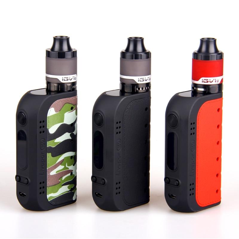 Original Yosta Livepor 160 W Kit stylo Vape kit Livepor 160 mod boîte avec 510 IGVI P2 réservoir vaporisateur contrôle de flux d'air E-Cigarette