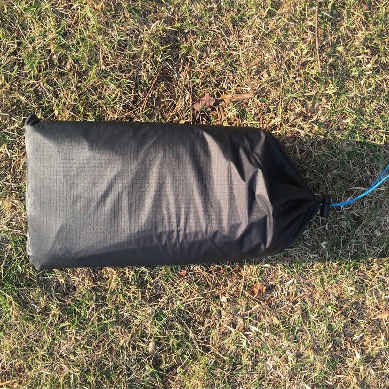2018 3F ul dişli LANSHAN 1 LANSHAN 2 orijinal silnylon ayak izi 210*110cm yüksek kaliteli groundsheet