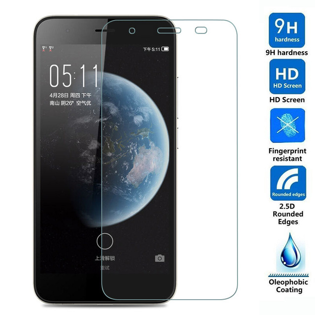 FOR Q465 Tempered Glass for Micromax Canvas Juice 4 Q465 mobile phone Screen Protector Film Protective Screen Cover