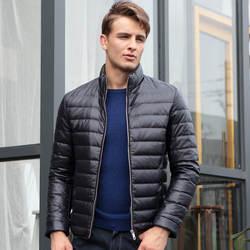 2018 Осень Зима Новая Длинная Куртка парка мужская теплая куртка модная повседневная парка средней длины утепленная шапка теплое пальто