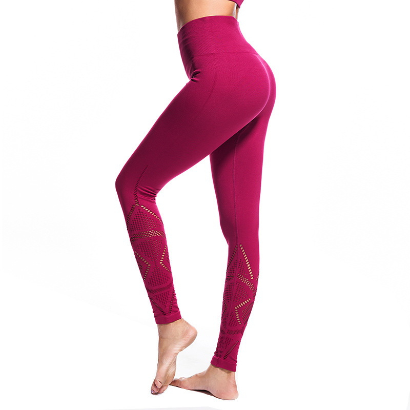c15c0739e00e2 Women Ombre Seamless Leggings High Waist Yoga Pants Mesh Push Up Running  Pants Super Stretchy Gym Tights Energy Fitness Leggins