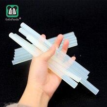 Free shipping(10PCS/Lot) Non-Toxic 11mm X190mm Adhesive Craft Sticks Hot Melt Glue Sticks Translucent Black