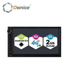 Ownice C500 Android 6.0 1024*600 4 core Radio 2 DIN 2 GB RAM 16 GB ROM universel GPS radio wifi Soutien 4G LTE Réseau DAB + aucun dvd