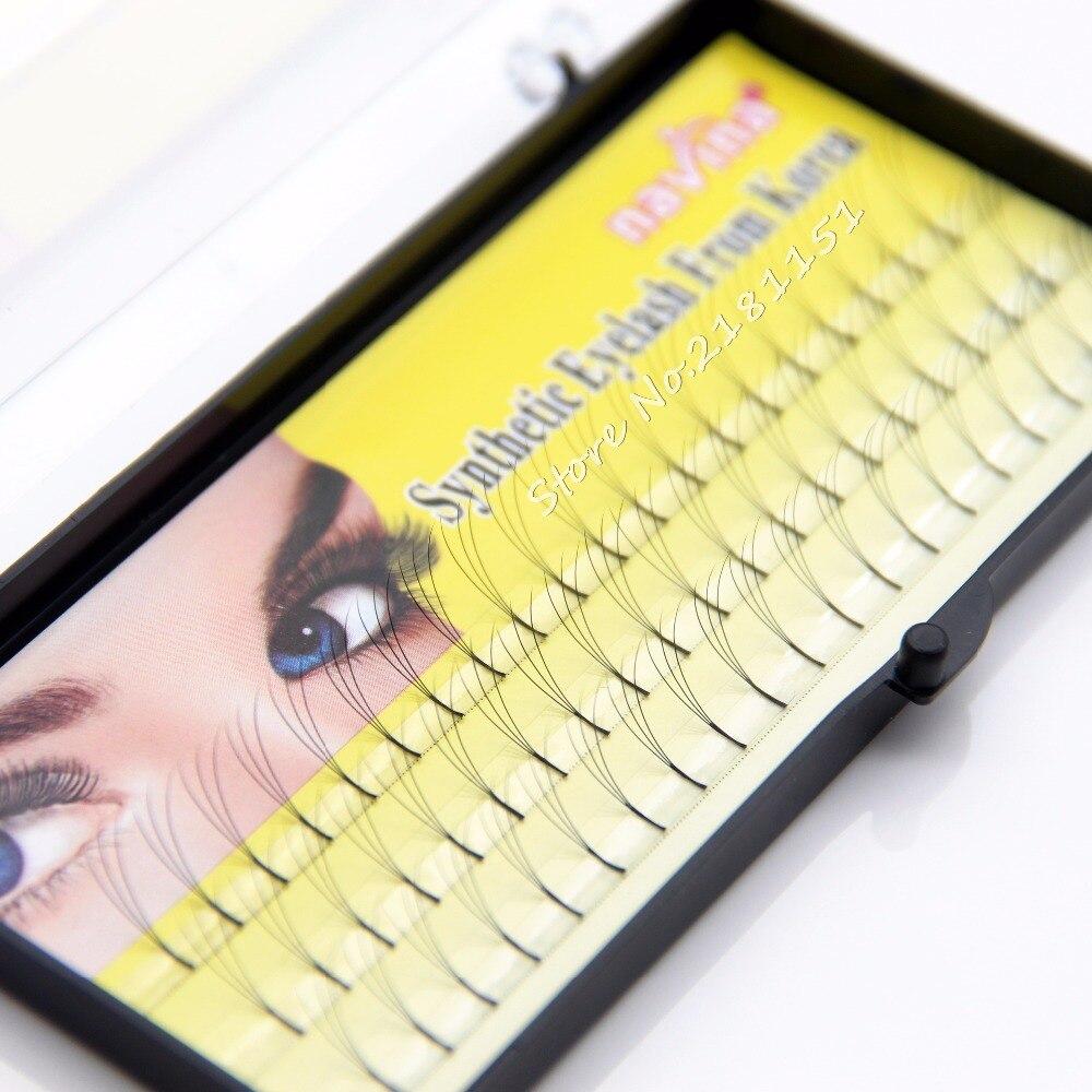 Super Lembut 3d Eyealsh Terbaru 60 Cluster Eye Lashes Tas Kosmetik Mata Pouch Make Up Dompet Karakter Lucu Unik Grafting Profesional Makeup Individu Palsu Bulu