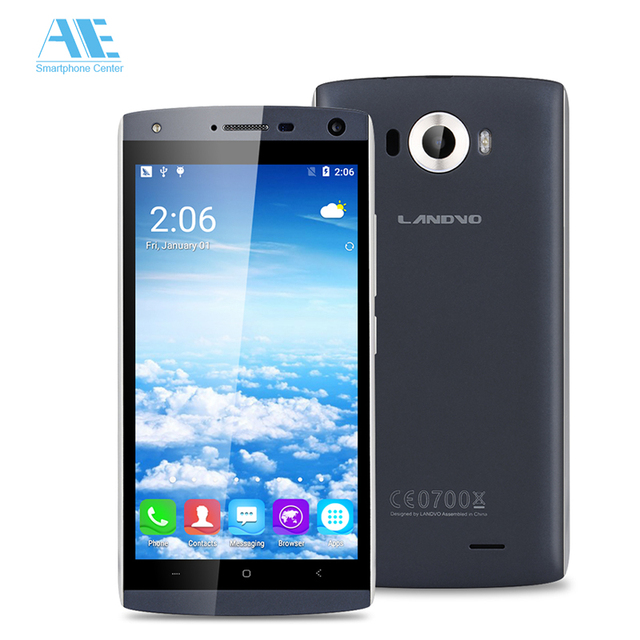 Original Landvo V11 MT6580M Quad Core Android 5.1 Smartphone 1G RAM 16G ROM 854*480 5.0 Inch 5MP 2100mAh 3G WCDMA Mobile Phone