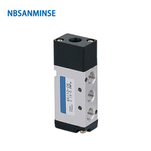 NBSANMINSE 4A110 4A120 4A130 Series M5 1/8 Pneumatic Control Valve Pneumatic Air Valve AIRTAC Type Automation Parts made in china pneumatic solenoid valve sy3220 4lze m5