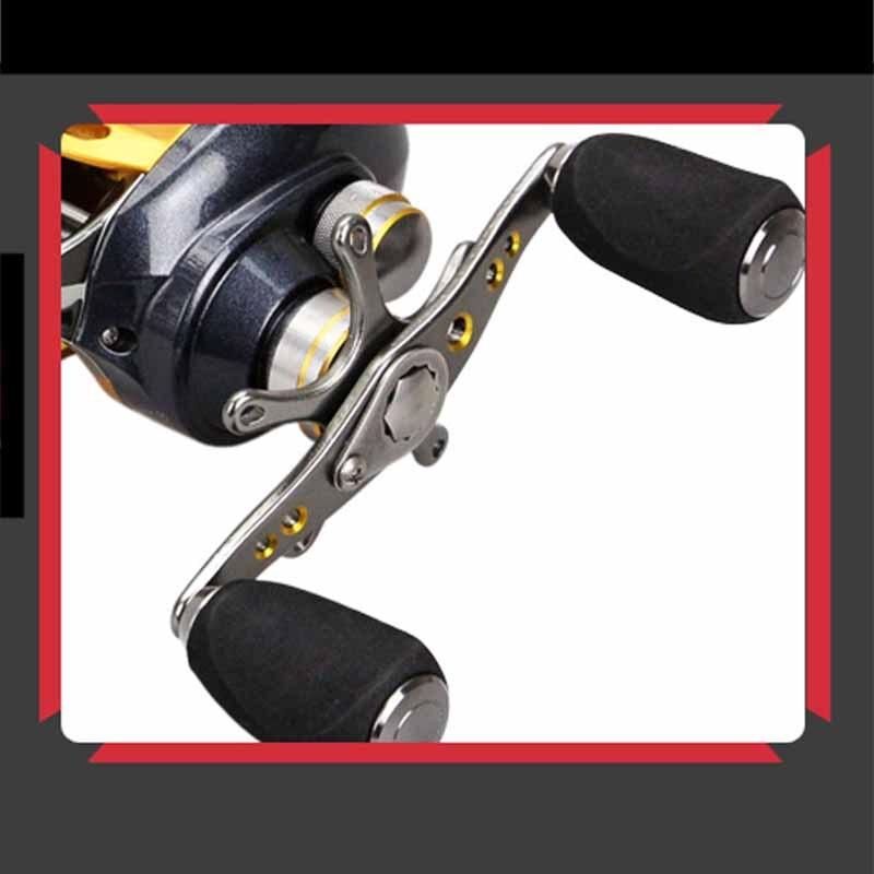 Haute qualité petit rapport de vitesse 6.2: 1 roulement à billes 12 + 1BB goutte d'eau ligne de poisson Baitcast bobine de pêche en plein air appât roue de coulée - 6