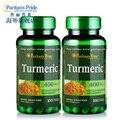 Envío libre La Cúrcuma contiene antioxidantes beneficiosos 100 cápsulas de 400 mg 2 botellas