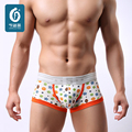 New Brand Cartoon Mens Underwears Boxers Slip Men Underwear U-Convex Male Cuecas Boxer Shorts Hombre Low Waist Man Bulge Trunks