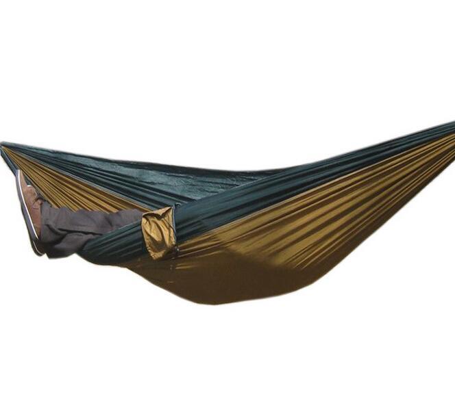 ≧Paracaídas hamaca de tela al aire libre, camping aire carpas ...