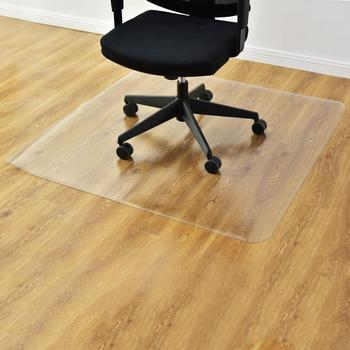 "59"" x 48"" PVC Chair Floor Mat Home Office Protector For Hard Wood Floors US Warehouse Drop Shipping Available"