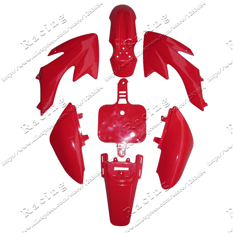 PLASTIC KIT FENDER For HONDA CRF50 XR50 70 CRF 50 XR 50 SDG SSR Pro 50cc 110c 125cc Dirt Pit Bike Fit For Kayo KR110