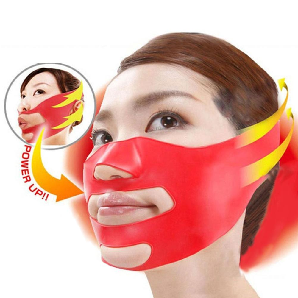 1Pc 3D Face Lift Tools Facial Shaper V Cheek Lift Up Face Mask Slimming Mask Belt Bandage Shaping Slimmer Women Beauty tools