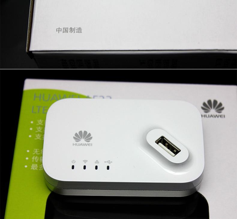 Huawei AF23 4G LTE / 3G WiFi brezžični USB večnamenski usmerjevalnik Doct Router 300m
