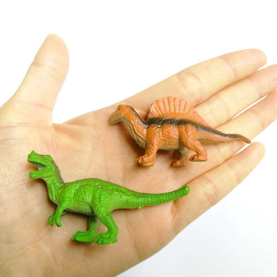WITHYOU 12pcs/set Plastic Mini Dinosaur Toy Model Ocean Sea Animal Action Figures 24
