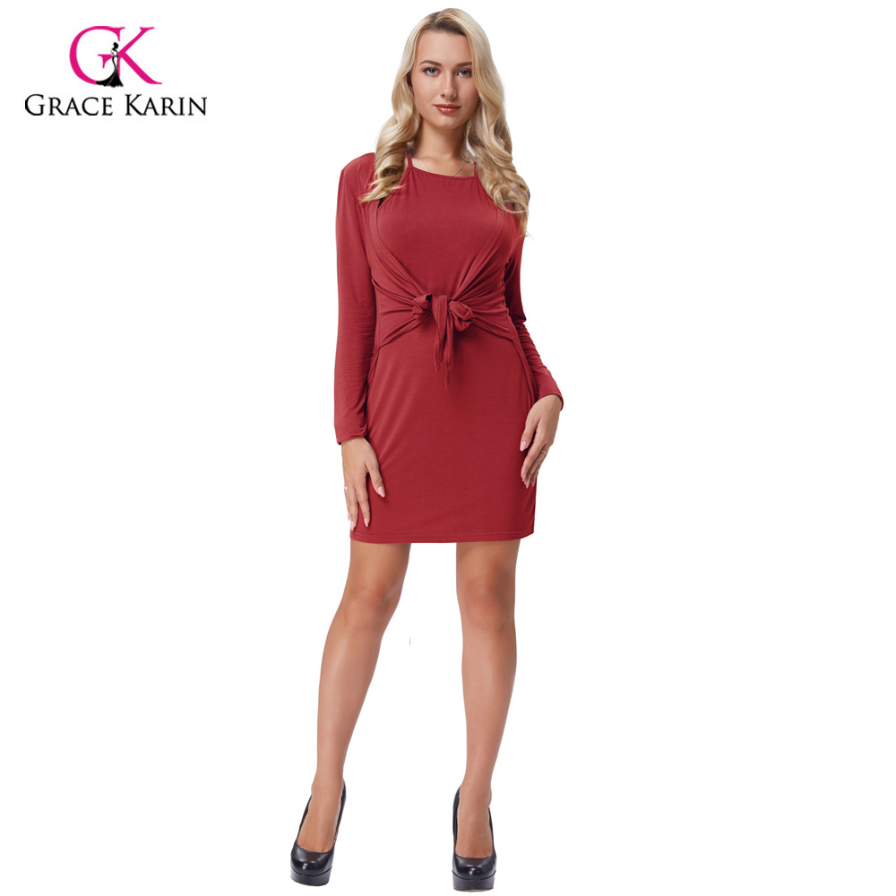 Aliexpress.com : Buy Grace Karin Short Prom Dress 2018 Solid Long ...