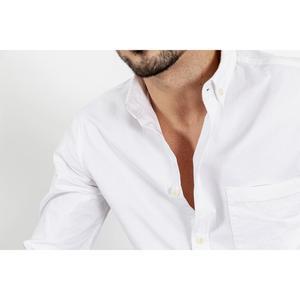 Image 5 - Simwood 綿 100% 古典的なカジュアルな胸ポケット 2020 春夏新高品質シャツ 190068