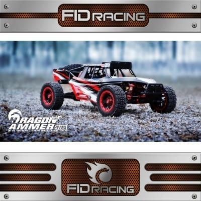 FID Racing Dragon Hammer 1/5 Gasoline Desert Truck with 36CC powerfull 2-stroke engine