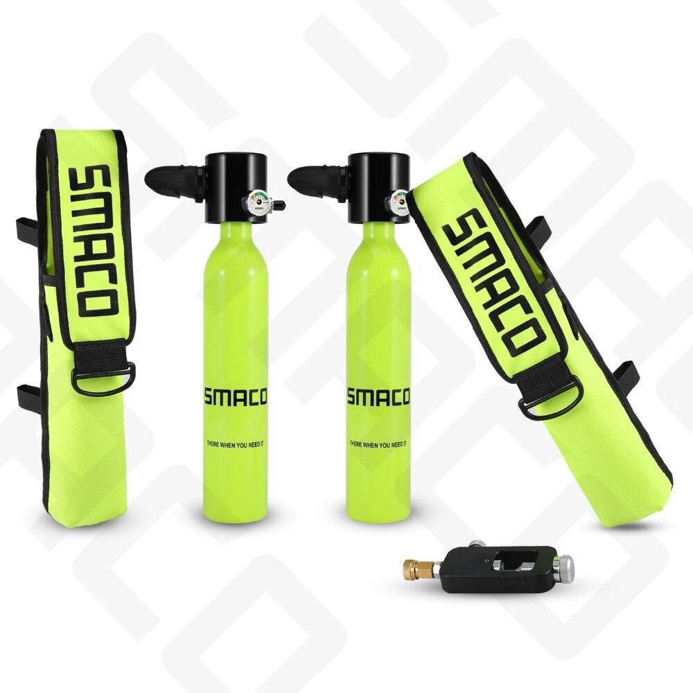 Équipement de plongée Mini bouteille de plongée sous-marine réservoir d'oxygène et sac personnalisé et