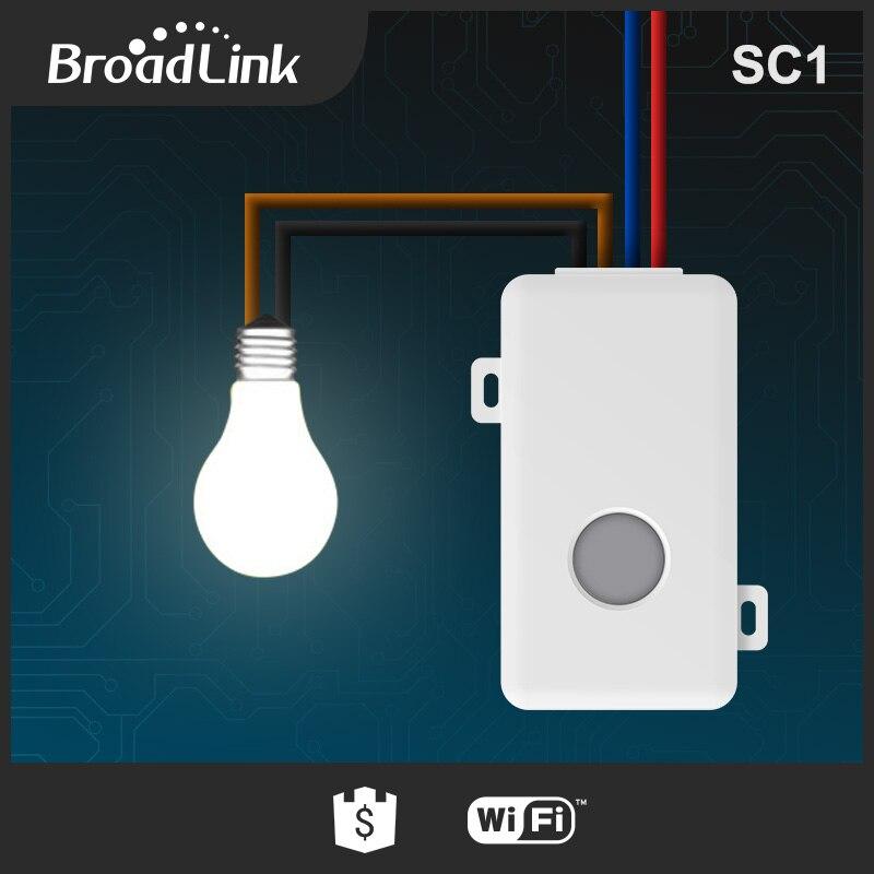Broadlink 5 pcs SC1 Wifi Contrôleur Smart Domotique Modules IOS Android Téléphone APP Sans Fil Wifi À Distance Interrupteur Commandé - 5